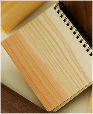 Kizara's Tree Ring Notebook (A6), Cedar (Light Brown)- 100 sheets