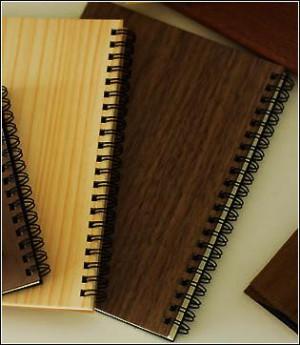 Kizara's Ring note book (A6) / Walnut(Brown)