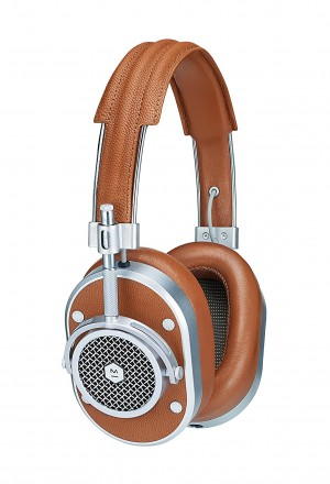 Master & Dynamic Over Ear Headphone - MH40S2- Silver/Brown