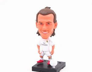 Real Madrid Club Soccer Football Star Gareth Bale Toy Action Figure Doll New