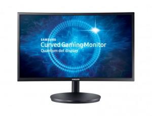 """Samsung 24"""" FHD Curved Monitor - LC24FG70FQMXUE"""