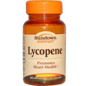 Sundown Naturals Lycopene, 60 Softgels