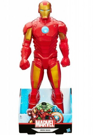 Hasbro - Avengers Titan Hero 20 Xl Figure - Iron Man (Solid) - B1655