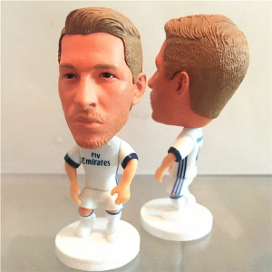 New Jersey Real Madrid Soccer Football Star Sergio Ramos Toy Figure Doll