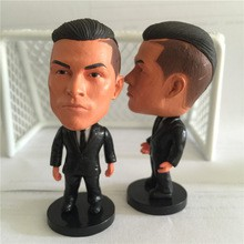 Soccerwe C.ronaldo Doll (Black Suit)Black Tie Collections