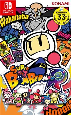 Super Bomberman-Nintendo Switch