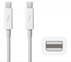 Apple Thunderbolt Cable (2.0	m) - White - AP2MD861