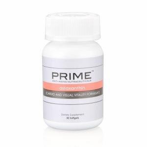 Prime Astaxanthin Cardio & Visual Vitality Formula 30 Softgels