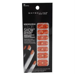 Maybelline Limited Edition Color Show Fashion Prints Nail Stickers - 30 Wild Reptile