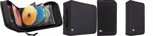 Case Logic CDW Capacity CD/DVD Pro sleeve Wallet (Black)