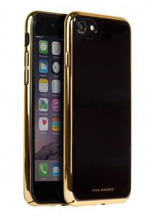 Viva Madrid Back Case (Electroplated PC Case) - Esbelto Collection- iPhone 7 (Velvet - No Lines)