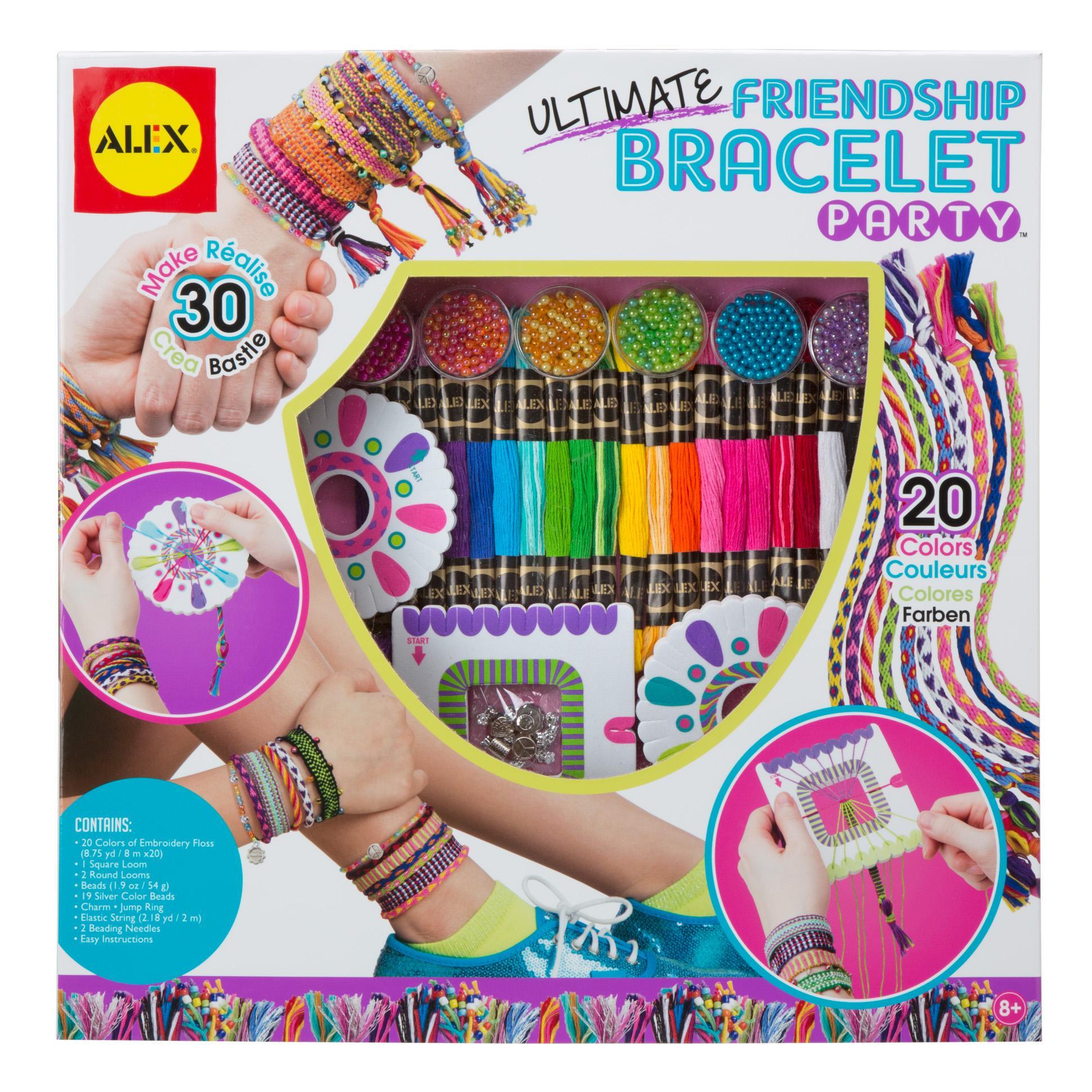 Alex Panline Diy Wear Ultimate Friendship Bracelet Party Kit