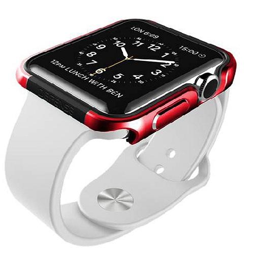 X-Doria - Apple Watch Defense Edge  42mm - Red