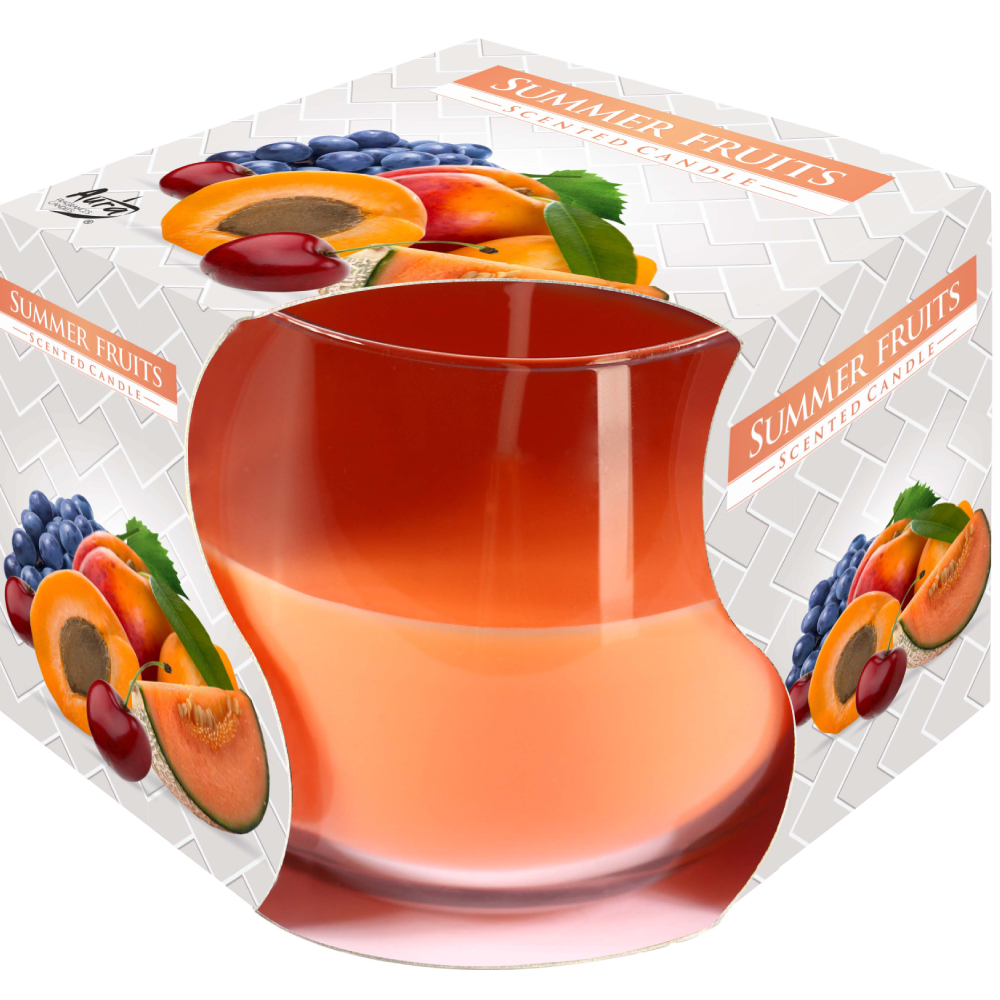Aura Scented Candles 130g - Summer Fruits