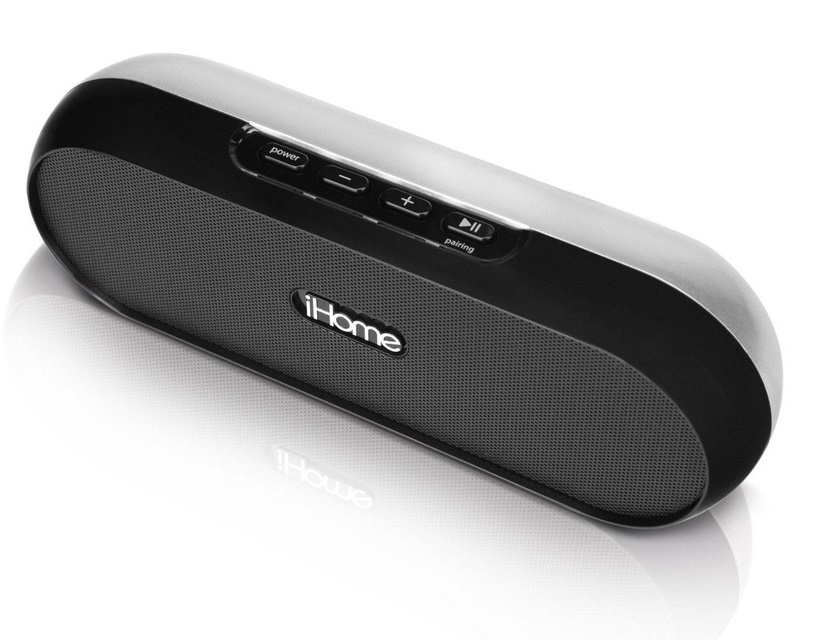 iHome IDM12BE Rechargeable Portable Bluetooth Speaker System