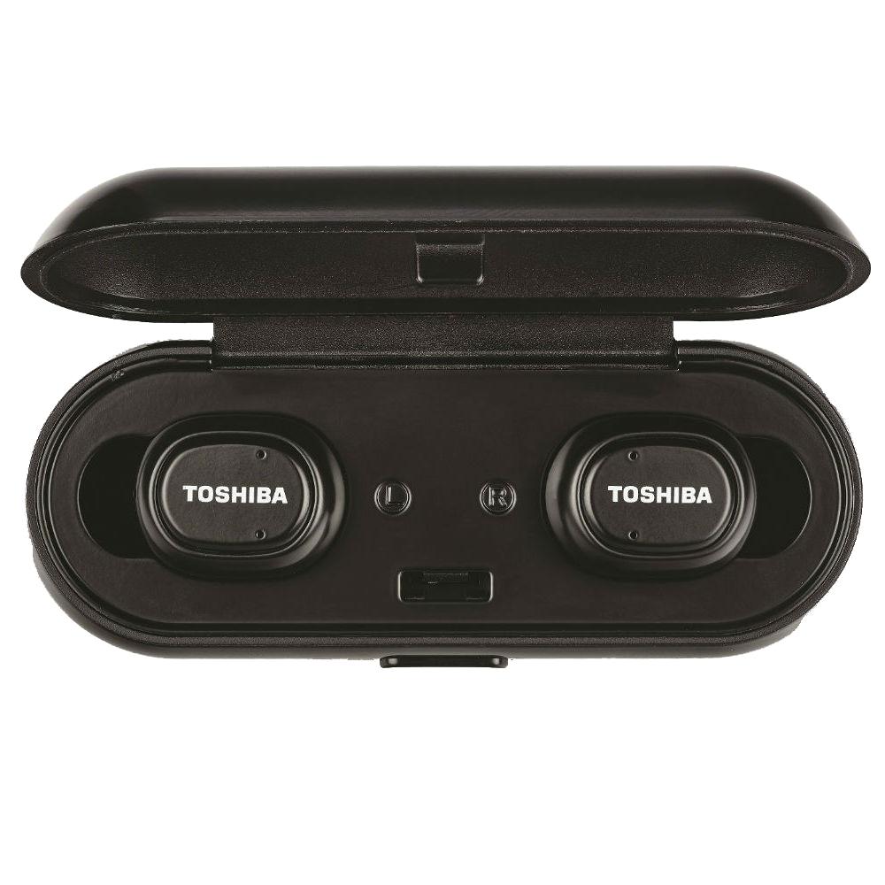 Toshiba Wireless Bluetooth Earphone - RZE-BT800E (Black)