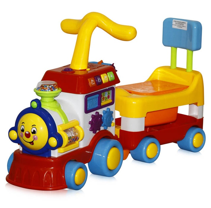 Bertoni Kid's Rider Locomotive 2in1 Walker Toilet Car