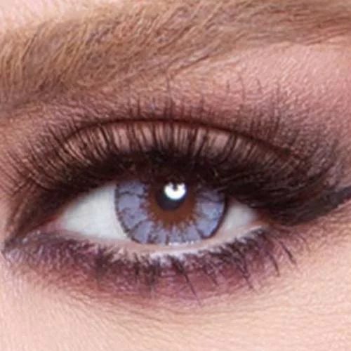 Bella Glow Contact Lens Radiant Gray
