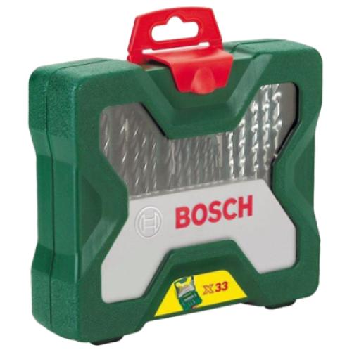 Bosch Set Of Drill Bits, 33-Piece