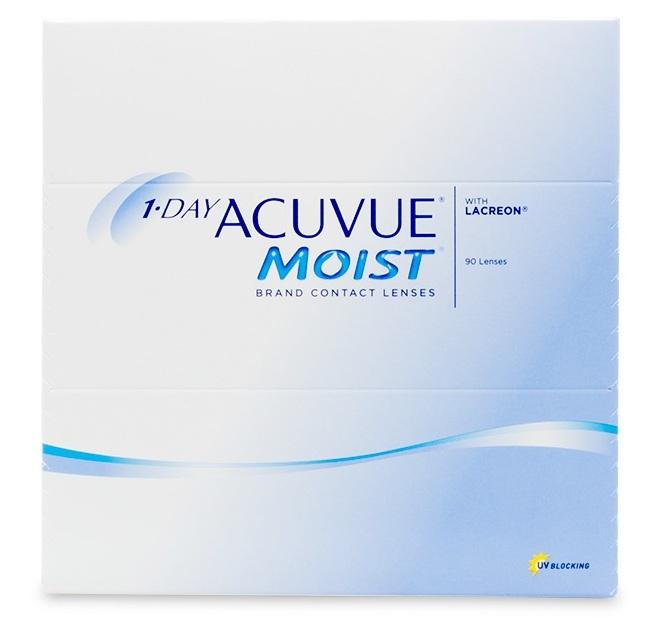 Acuvue Daily Moist 90 Pcs Eye Lens (Power -0 5)