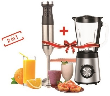Orca 2 In 1 Set, Blender And Hand Blender