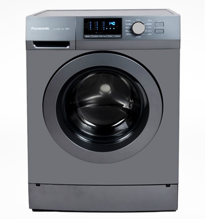 Panasonic 8KG Front Load Washer - Silver