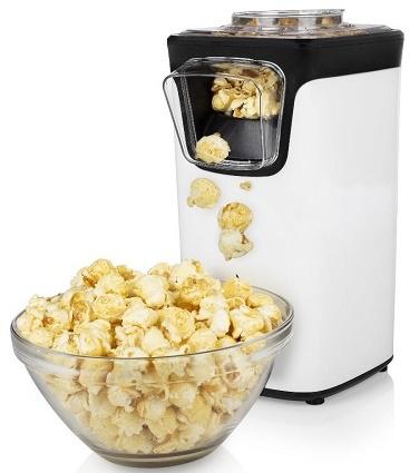 Orca Popcorn Maker 1100W, White - OR41-292986
