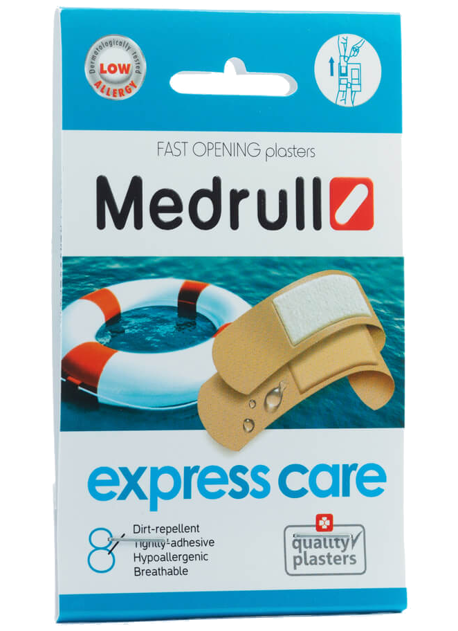 Medrull Plasters Express Care N8(CH)