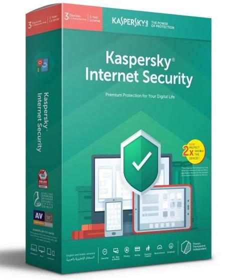 Kaspersky Internet Security 2019 - 2 Users