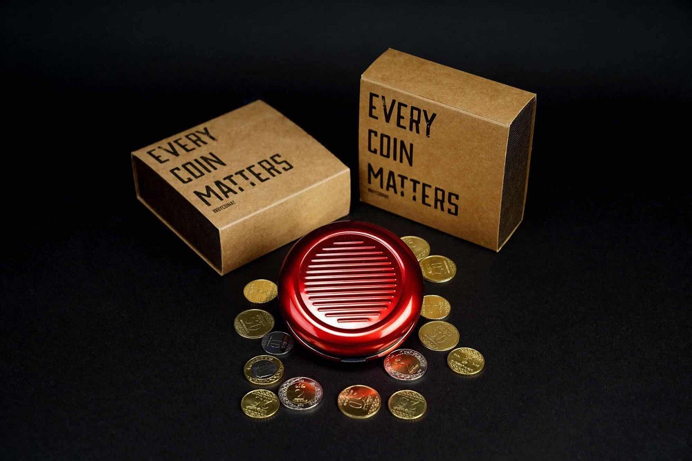 Coinat - Coin Holder Special Made for KSA - Red