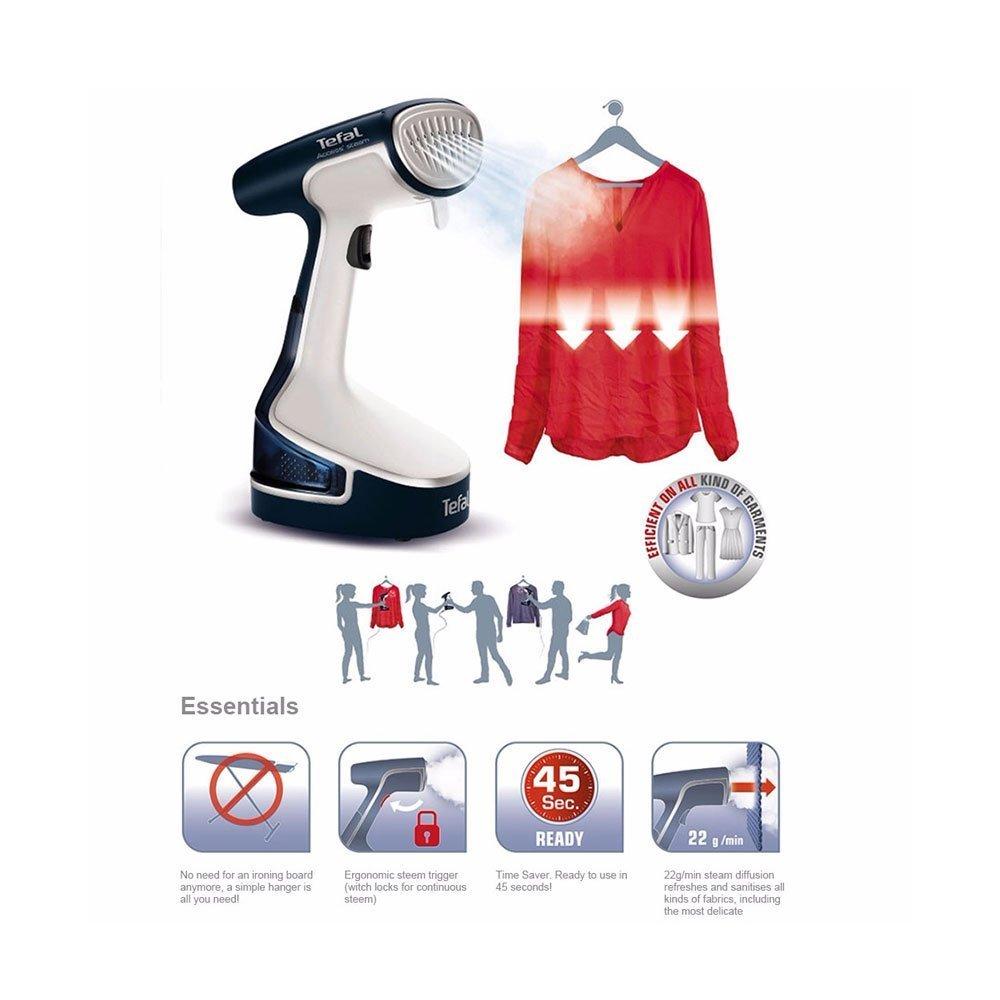 Tefal Access Steam Dr8085gi Handheld Garment Steamer Buy Online  # Tefla Muebles Sl