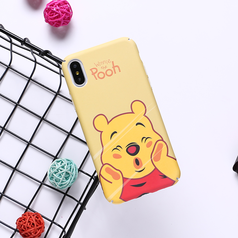 Disney Characters iPhone X Cover - Yellow