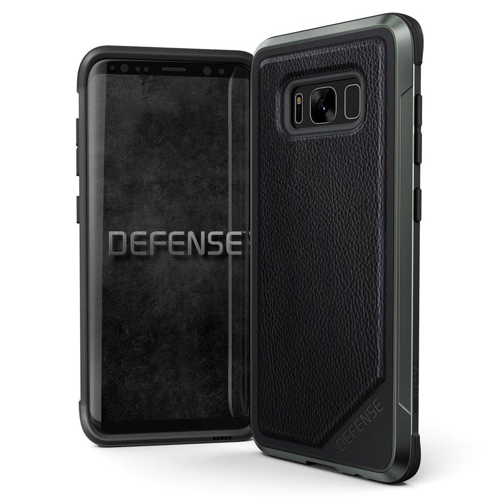 X-Doria - Samsung Galaxy Note8 Case Defence Lux - Black Leather