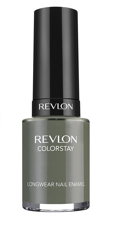 REVLON Colorstay Nail Enamel, Spanish Moss, 0.4 Fluid Ounce   Buy ...