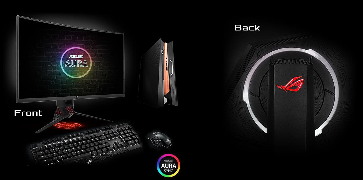 "ASUS ROG Strix XG32VQ 32"" Curved Full HD Gaming Monitor | Buy Online"