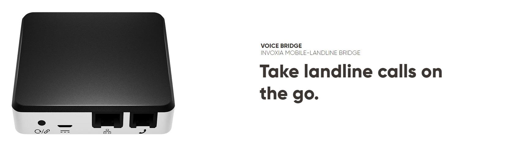 Invoxia Swiss Bridge Landline with Open Subscription | Buy Online