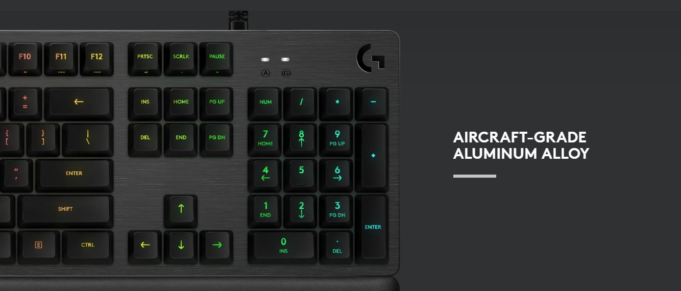Logitech Carbon RGB Mechanical Gaming Keyboard - G513 - Carbon   Buy