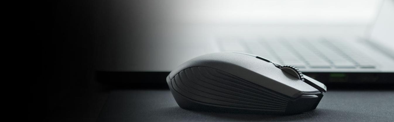 Razer Atheris Bluetooth Optical Gaming Mouse - Black