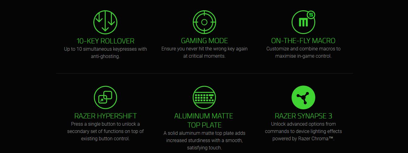 Razer Huntsman Opto-Mechanical Chroma Gaming Keyboard