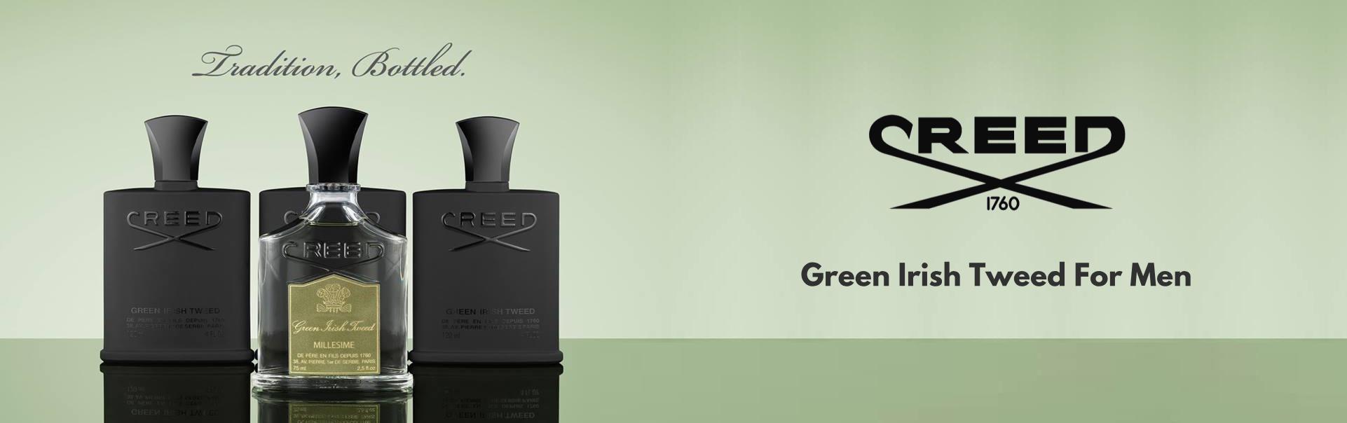 Perfume Creed Green Irish Tweed For Man -120 ML   Buy Online ...