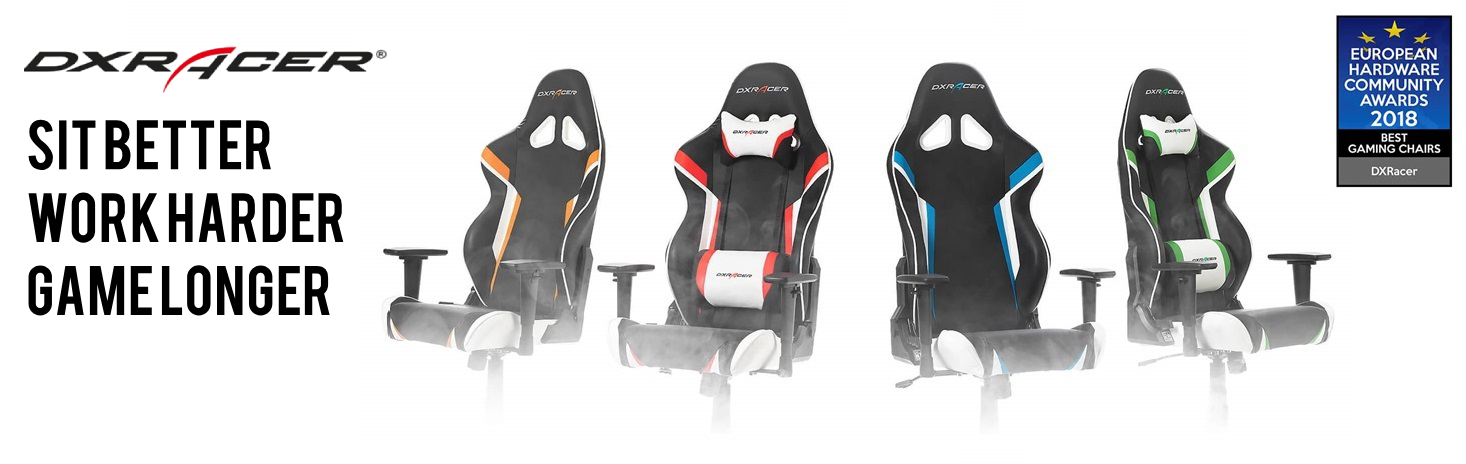 DXRacer Racing Series PlayStation Edition Gaming Chair