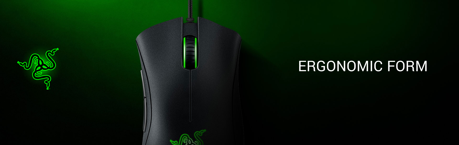 Razer DeathAdder Essential Ergonomic 6400DPI - 4G USB Gaming