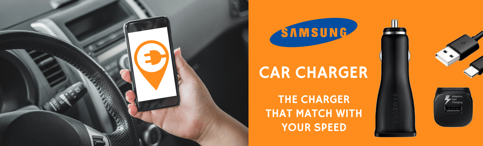 Samsung Car Charger ( Open Box) | Buy Online | Ubuy Kuwait