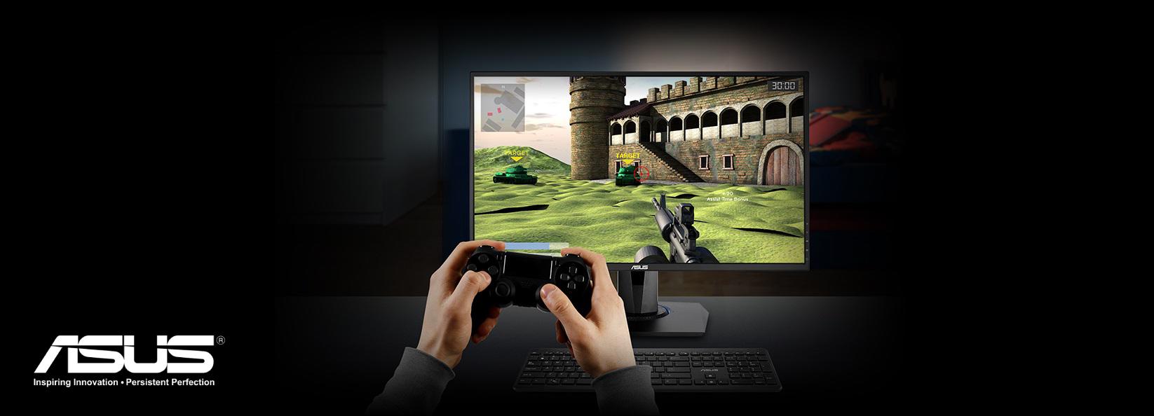ASUS VG278Q Gaming Monitor - 27inch, Full HD, 1ms, 144Hz, G