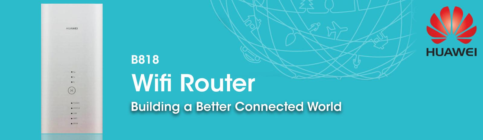 Huawei B818 CAT19 Gigabit LTE WiFi Router | Buy Online