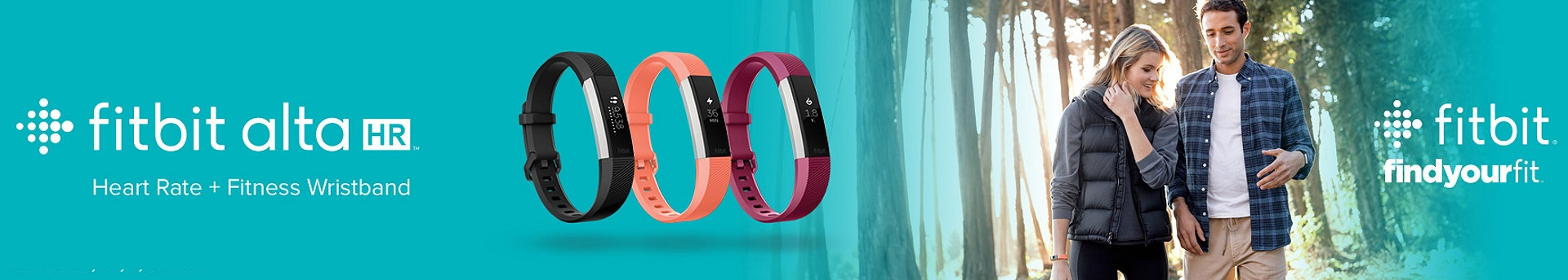Fitbit Alta HR - Heart Rate + Wristband - Small - Black - إشتري الأن