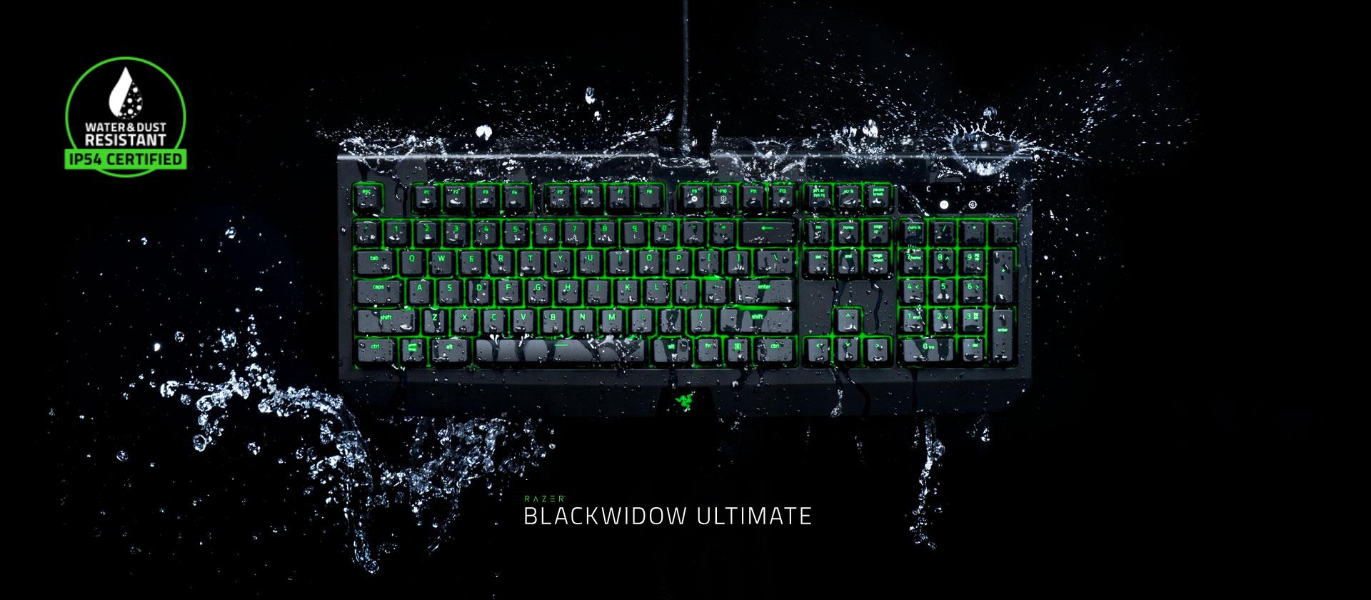Razer BlackWidow Ultimate Gaming Keyboard - Green | Buy Online