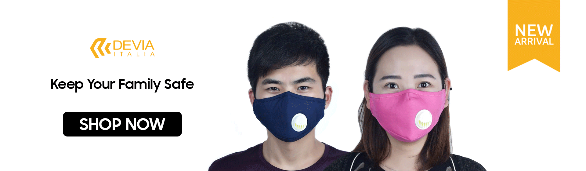 Devia Breathing Masks